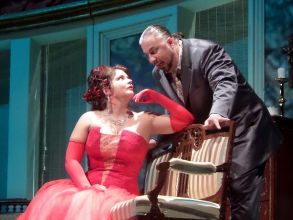 Tosca és Scarpia: Herczenik Anna és Cseh Antal (fotó: Vona Ildikó)