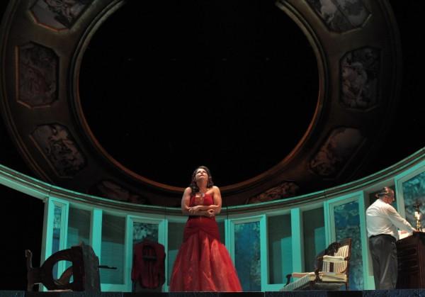 Tosca: Herczenik Anna (fotó: Éder Vera / Miskolci Nemzeti Színház)