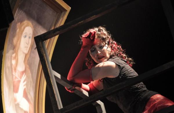 Tosca: Vizin Viktória (fotó: Éder Vera / Miskolci Nemzeti Színház)