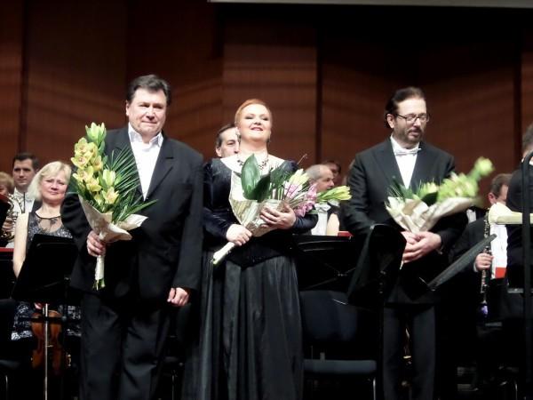 Fodor Beatrix, Bándi János és Kálmándi Mihály (fotó: Vona Ildikó)