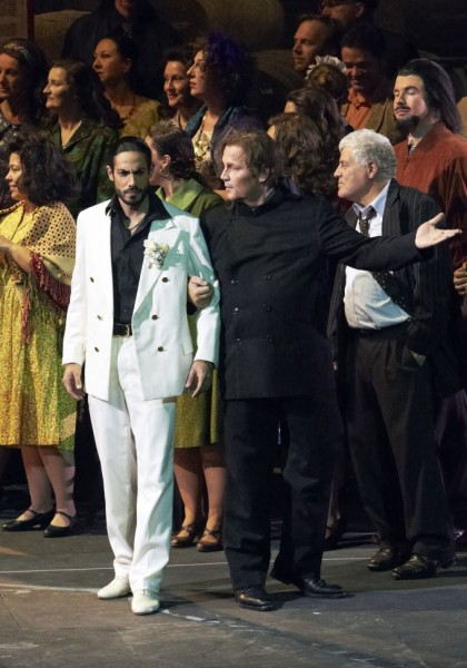 Masetto és Leporello: és Wolgang Bankl (fotó: Michael Pöhn)