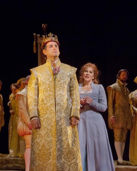 Joyce DiDonato és Juan Diego Flórez (fotó: Ken Howard / Metropolitan Opera)