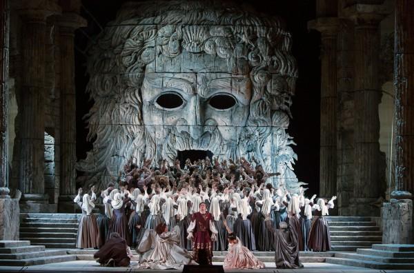 Jelenet az előadásból (fotó: Marty Sohl / Metropolitan Opera)