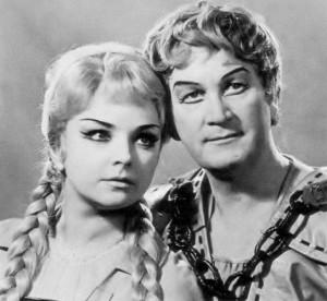 Házy Erzsébet (Éva) és Simándy József (Walther)