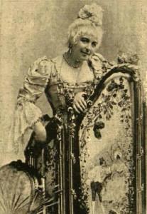 Ábrányiné Wein Margit, a hazai ősbemutató címszereplője