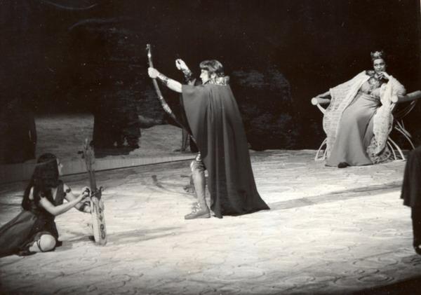 Odüsszeusz hazatérése (Fotó: MTI, 1975)