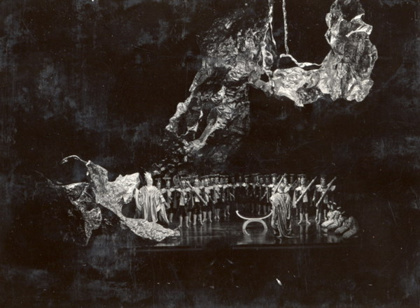 Poppea megkoronázása (Fotó: MTI, 1968)