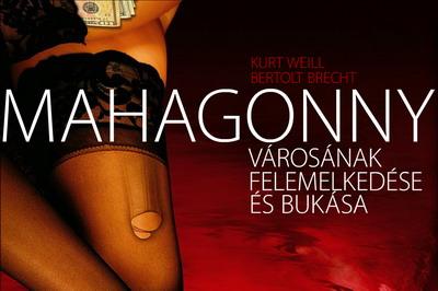 A Mahagonny plakátja